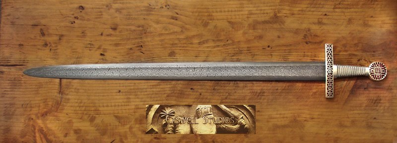 Caswell Knives Gallery Of Past Knife Firearm And Tactical Equipment Fascinating Pattern Welded Sword